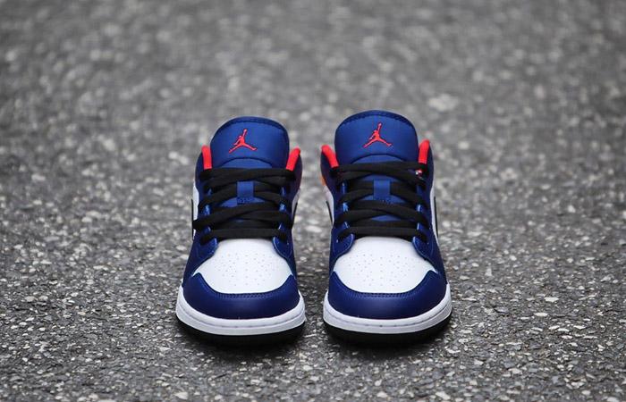 Nike Jordan 1 Low White Navy Yellow 553558-123 03