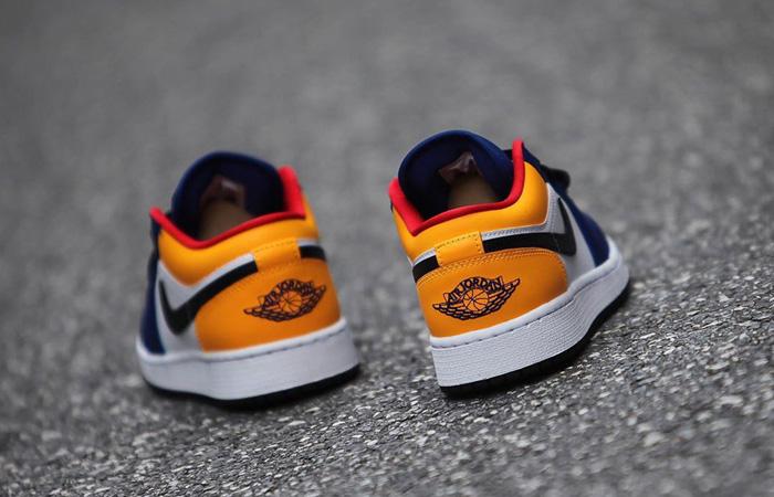 Nike Jordan 1 Low White Navy Yellow 553558-123 04