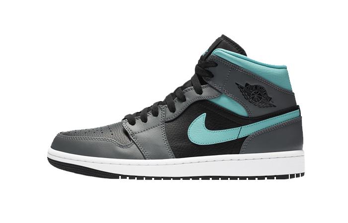 Nike Jordan 1 Mid Grey Aqua 554724-063 01