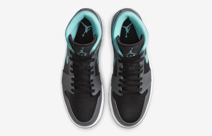Nike Jordan 1 Mid Grey Aqua 554724-063 04