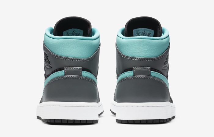 Nike Jordan 1 Mid Grey Aqua 554724-063 05