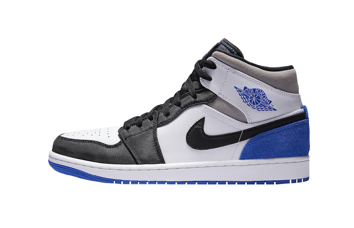 Nike Jordan 1 Mid SE Black Game Royal 852542-102 01