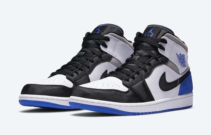 Nike Jordan 1 Mid SE Black Game Royal 852542-102 02
