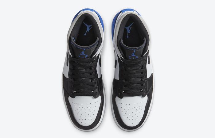 Nike Jordan 1 Mid SE Black Game Royal 852542-102 04