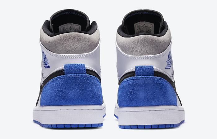 Nike Jordan 1 Mid SE Black Game Royal 852542-102 05