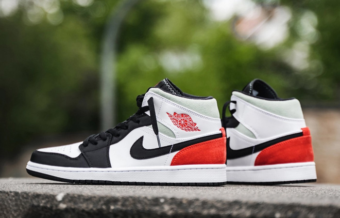 Nike Jordan 1 Mid SE Union Black Toe 852542-100 02