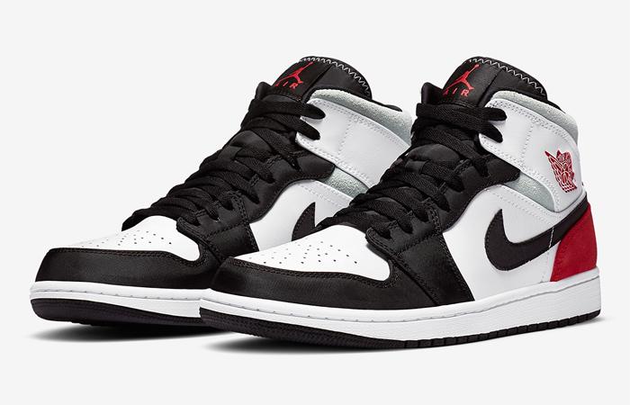 Nike Jordan 1 Mid SE Union Black Toe 852542-100 05