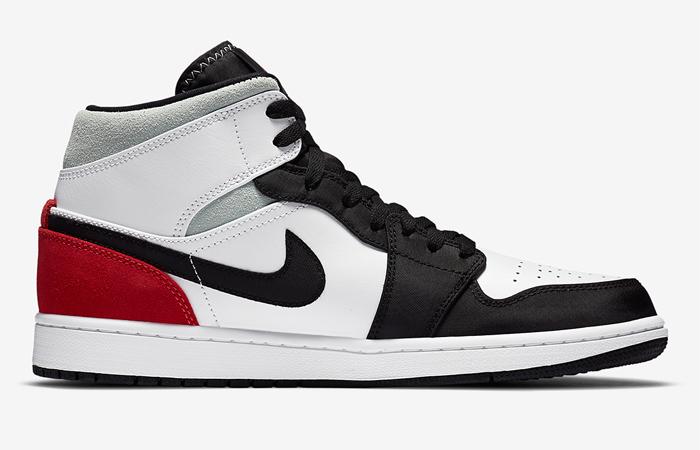 Nike Jordan 1 Mid SE Union Black Toe 852542-100 06