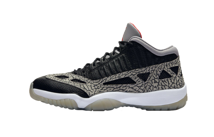 Nike Jordan 11 Low Black Cement 919712-006 01