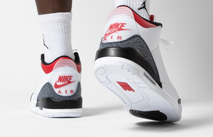Nike Jordan 3 Japanese Denim White CZ6431-100 on foot 03