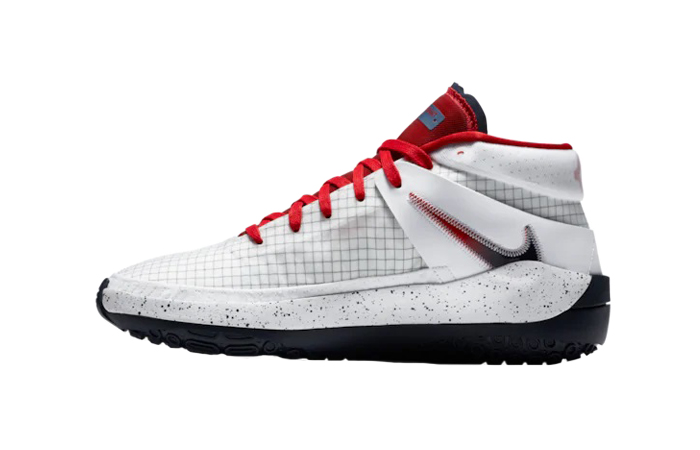Nike KD 13 White Red CI948-101 01