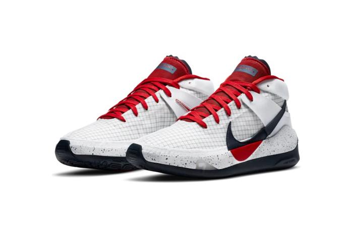 Nike KD 13 White Red CI948-101 02