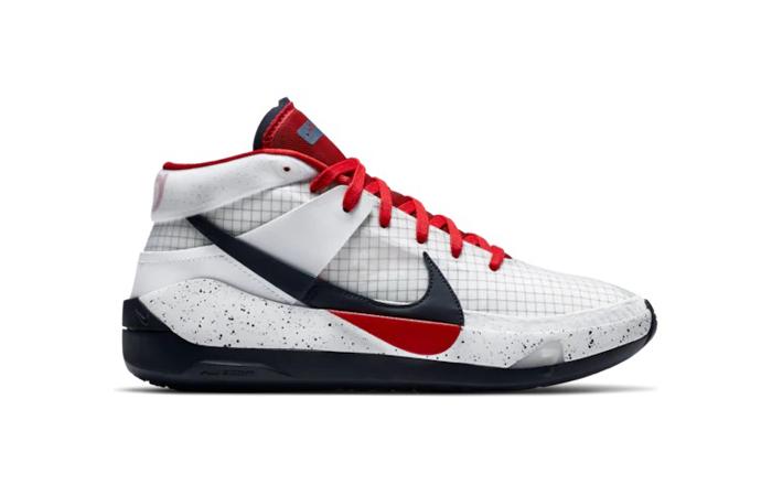 Nike KD 13 White Red CI948-101 03
