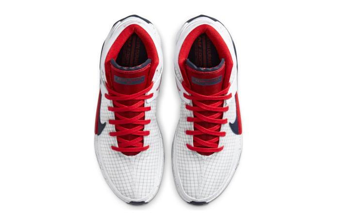 Nike KD 13 White Red CI948-101 04
