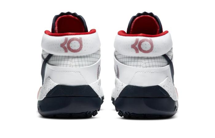Nike KD 13 White Red CI948-101 05
