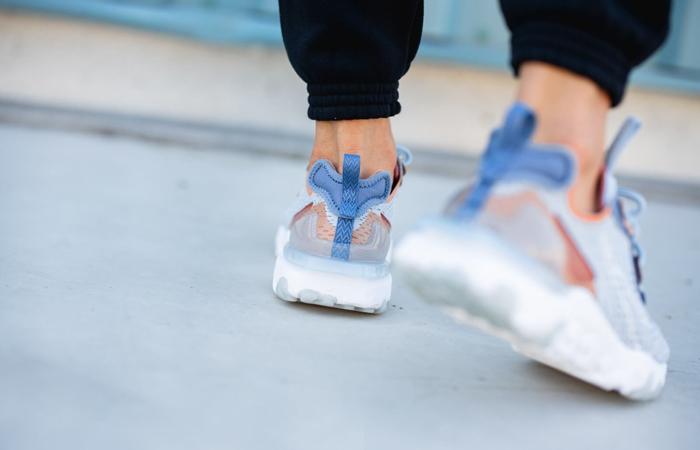 Nike React Vision Light Denim Blue CD4373-401 on foot 03