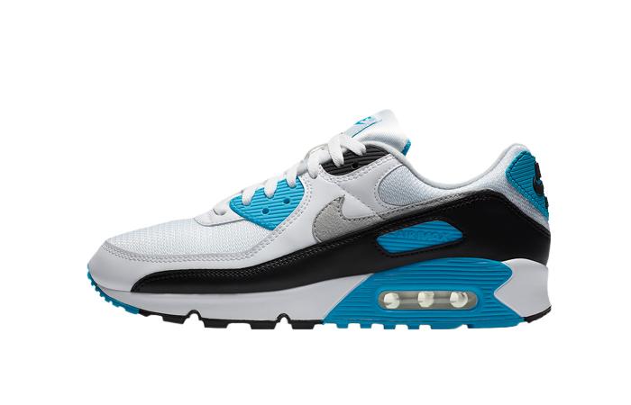 Nike Womens Air Max 90 III OG Laser Blue CJ6779-100 01
