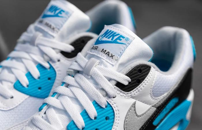 Nike Womens Air Max 90 III OG Laser Blue CJ6779-100 02