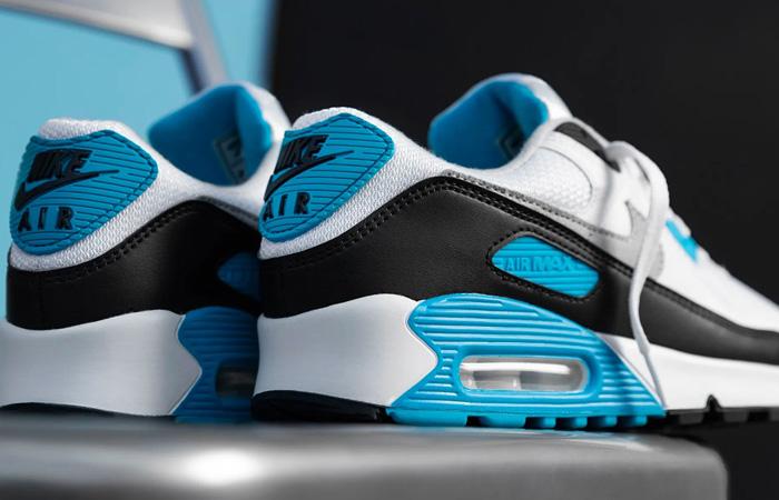 Nike Womens Air Max 90 III OG Laser Blue CJ6779-100 03