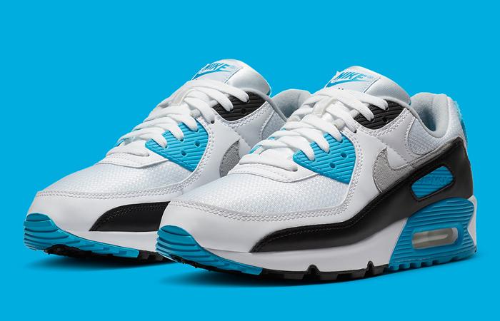 Nike Womens Air Max 90 III OG Laser Blue CJ6779-100 04