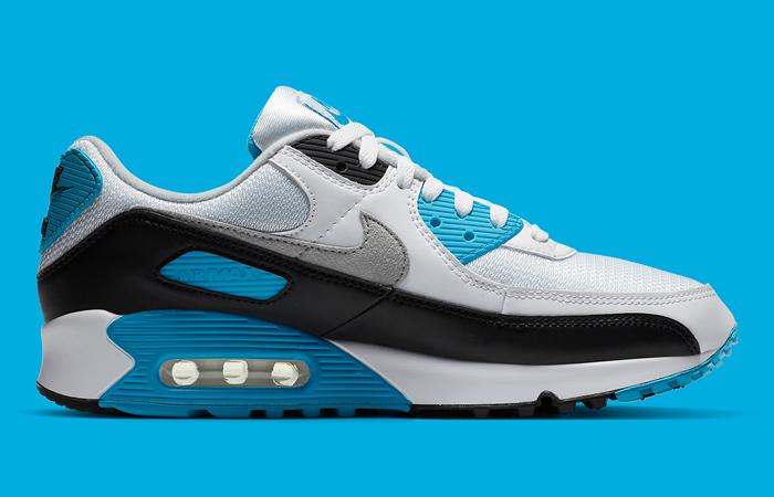 Nike Womens Air Max 90 III OG Laser Blue CJ6779-100 05