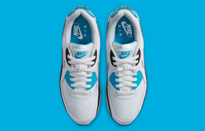 Nike Womens Air Max 90 III OG Laser Blue CJ6779-100 06