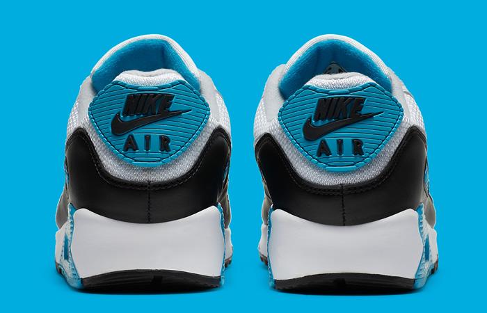 Nike Womens Air Max 90 III OG Laser Blue CJ6779-100 07