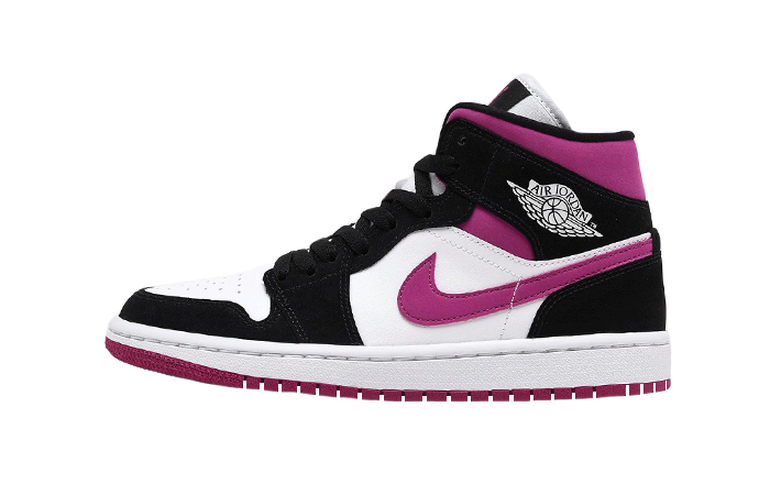 Nike Womens Jordan 1 Mid Purple BQ6472-005 01