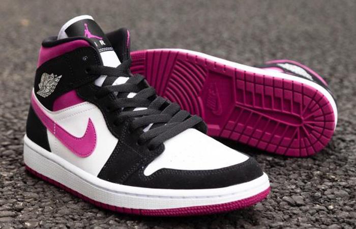 Nike Womens Jordan 1 Mid Purple BQ6472