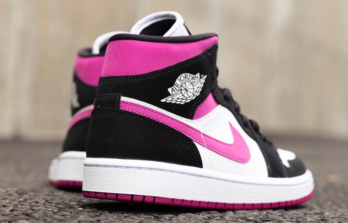 Nike Womens Jordan 1 Mid Purple BQ6472-005 04