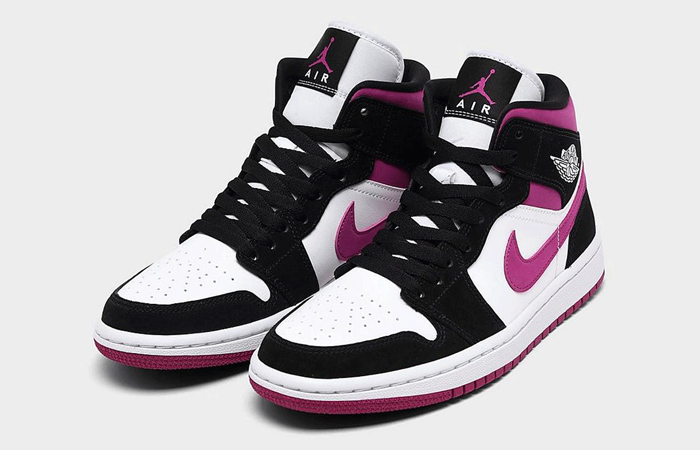 Nike Womens Jordan 1 Mid Purple BQ6472-005 05