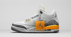 Official Look At The Air Jordan 3 'Laser Orange'