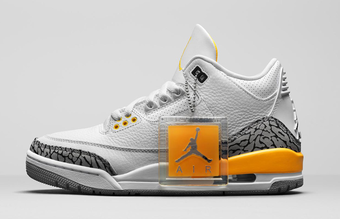 Official Look At The Air Jordan 3 'Laser Orange' ft