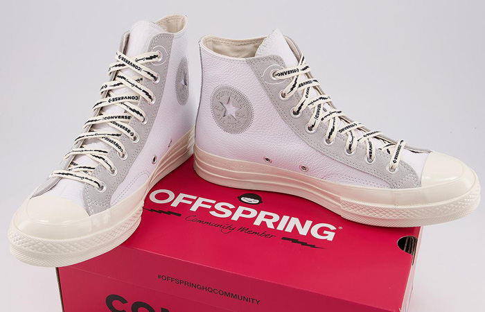 Offspring Community Converse Chuck 70 High Part 2 White 169054C 02