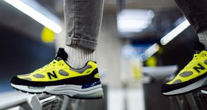 On Foot Images Unveiled For The New Balance 992 Yellow 01