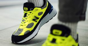 On Foot Images Unveiled For The New Balance 992 Yellow 02