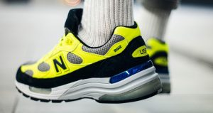 On Foot Images Unveiled For The New Balance 992 Yellow 03