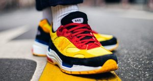 On Foot Images Unveiled For The New Balance 992 Yellow 05