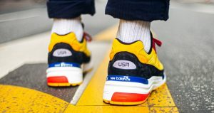 On Foot Images Unveiled For The New Balance 992 Yellow 06