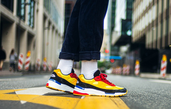 On Foot Images Unveiled For The New Balance 992 Yellow ft