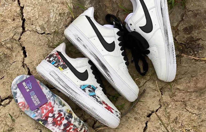 PEACEMINUSONE Nike Air Force 1 Para-noise White Could Be Releasing In September f