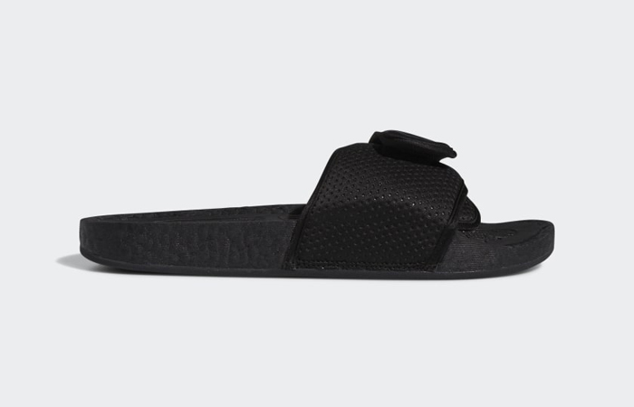 Pharrell William Boost Slide Black FX8056 06