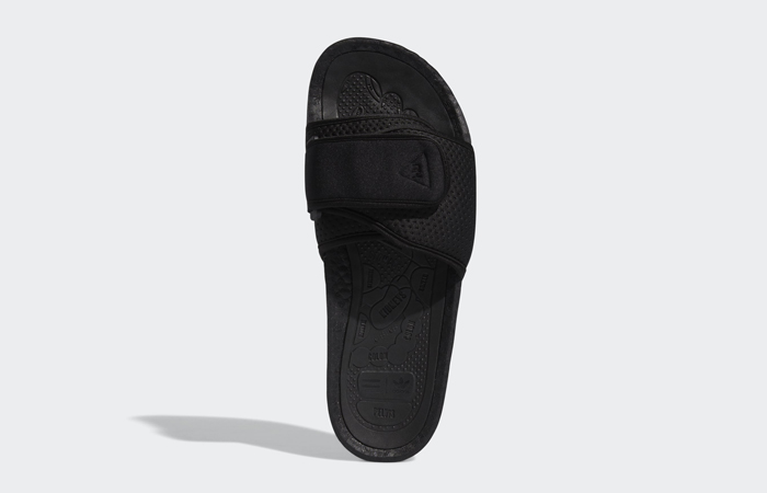 Pharrell William Boost Slide Black FX8056 07