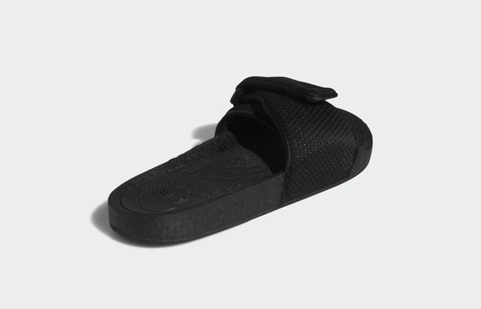 Pharrell William Boost Slide Black FX8056 08
