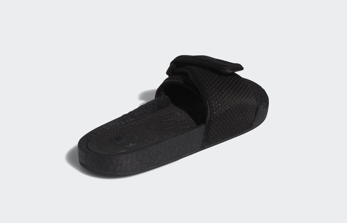 Pharrell William Boost Slide Black FX8056 08
