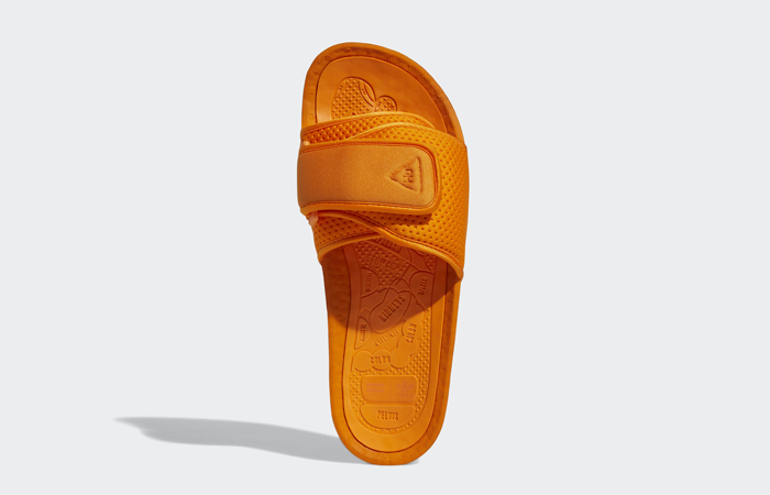 Pharrell William Boost Slide Bright Orange FV7261 07