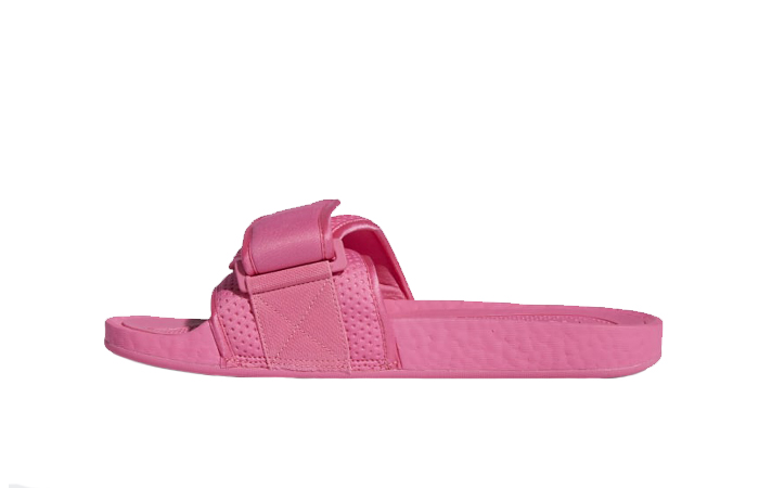 Pharrell William Boost Slide Semi Solar Pink FV7289 01