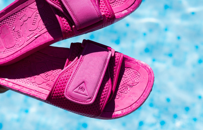 Pharrell William Boost Slide Semi Solar Pink FV7289 03