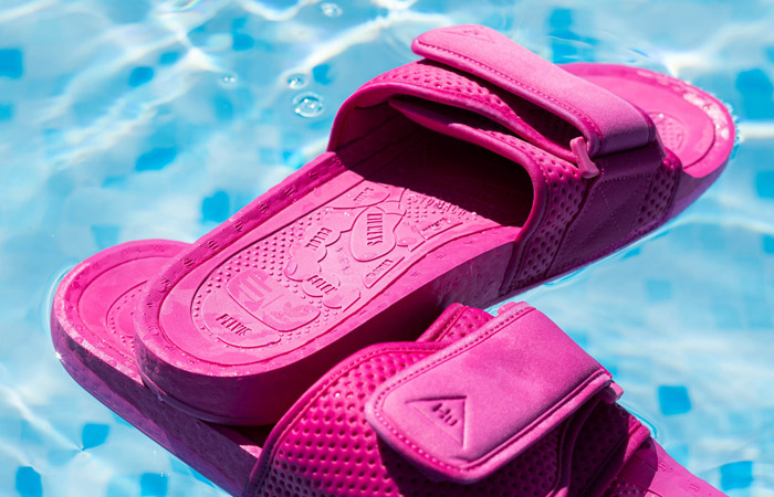 Pharrell William Boost Slide Semi Solar Pink FV7289 04