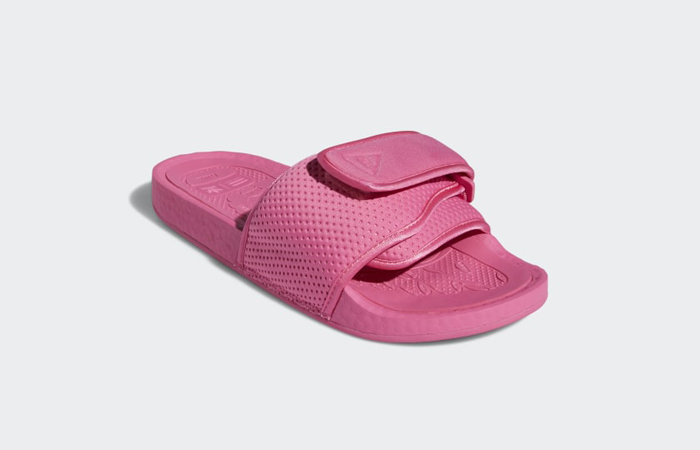 Pharrell William Boost Slide Semi Solar Pink FV7289 05
